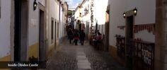 Main street of #Óbidos, inside the #medieval #castle.