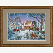 Dimensions D08816 | Sweet Memories Christmas Counted Cross Stitch Kit 41 x 28cm
