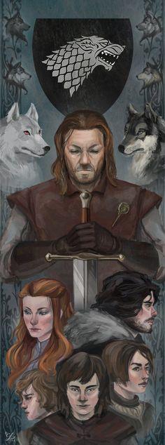 House Stark by Alsheim on deviantART