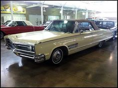 1966 Chrysler 300 Convertible 383 CI, Automatic presented as lot S31 at Des Moines, IA 2012 - image1