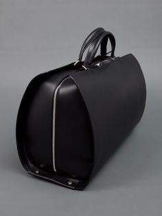 Bonastre | 'D14' Holdall Bag. Leather can have so much structure to it. We ought to be playing with shape more like this.