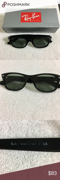 529f334a9eb Black Ray-Bans Wayfarer 55mm RB2132 Prescription Up for sale are these  Black Wayfarer Ray