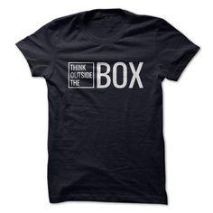 Think Outside The Box T-shirt - #pink hoodie #sweater. GUARANTEE => https://www.sunfrog.com/LifeStyle/Think-Outside-The-Box-T-shirt.html?68278