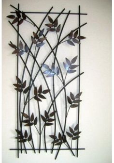 Stunning Wrought Iron Design Ideas That Are Truly Amazing - Genmice Metal Wall Decor, Metal Wall Art, Wall Art Decor, Window Grill Design, Door Gate Design, Wrought Iron Decor, House Front Design, Iron Furniture, Iron Art
