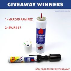 🚨 GIVEAWAY WINNERS 🚨  Random winners were picked up and won a Portable Pen Torch by Newport Zero 1- Marcos Ramirez (Facebook Winner) 2- @air147 (Instagram Winner)  Stay tuned for our next giveaway  Please DM us your contact details.  NewportButane.com Wholesale: Sales@NewportButane.com  #gotraregang #cigar #cigars #habanos #cigarsandspirits #newportbutane #cigarlighter #CigarConnoisseur #cigarphotos #cigarlife #cigarboss #cigarporn #cigaraficionado #cubancigars #luxury #giveaway…
