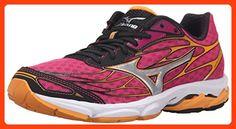 huge discount 4c7ab ac9fb Mizuno Womens Wave Catalyst Running Shoe, Fuchsia PurpleSilver, 8 B US  Mizuno