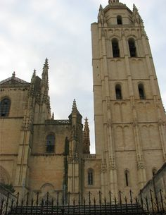 The Cabildo Cathedral in Segovia, Spain