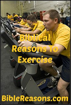 Do you need more motivation to exercise? Here are 7 biblical reasons why all Christians should be exercising regularly.