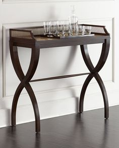 Calexio Consulate Side Table by Hooker Furniture at Horchow.