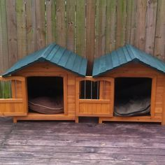 double dog houses - Google Search