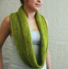 Infinity scarf pattern