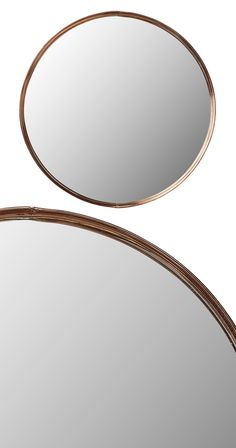 Do you agree that round mirrors draw out a fascination and look sensational in general? We chose this Tambourine Framed Mirror as a way to offer a chic design accent with the bonus of a popular metal f...  Find the Tambourine Framed Mirror, as seen in the 3 Ways to Get That Summer Mod Collection at http://dotandbo.com/collections/3-ways-to-get-that-summer-mod?utm_source=pinterest&utm_medium=organic&db_sku=118862
