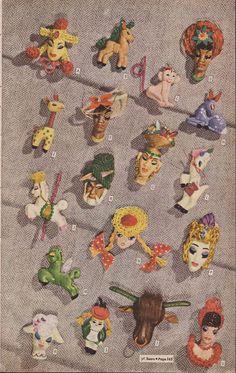 1943 Sears catalogue of Elzac pins