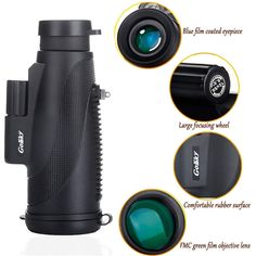 Binoculars & Telescopes Careful Gosky Quick Cell Phone Adapter Mount Compatible With Binocular Monocular Scope Attractive And Durable