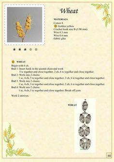 Crochet Flower Patterns The Book of Crochet Flowers - Crochet Puff Flower, Crochet Cactus, Crochet Leaves, Crochet Motifs, Knitted Flowers, Crochet Flower Patterns, Crochet Diagram, Crochet Stitches, Crochet Baby Bonnet