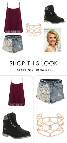 """""""maze runner"""" by freyasimper ❤ liked on Polyvore featuring M&Co, Timberland, Alexis Bittar and plus size clothing"""