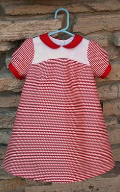 Christmas Puppet Show Dress for Lucy, by Me, Toot Toot!