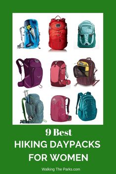 Old daypack rubbing in all the wrong places? Does your daypack feel like it weighs a ton? Time to check out the best women's daypacks! We've sorted through the of packs to find 9 of the best hiking daypacks. Check out the best daypacks list here! Hiking Gear Women, Hiking Tips, Camping And Hiking, Women Camping, Kayak Camping, Winter Camping, Best Hiking Backpacks, Day Backpacks, Best Hiking Boots
