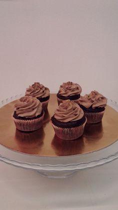 cup cake al cioccolato