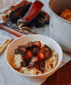 o Chinese Pork Belly Recipe, Pork Belly Recipes, Asian Pork Belly, Asian Recipes, Ethnic Recipes, Chinese Recipes, Asian Foods, Chinese Food, Hawaiian Recipes