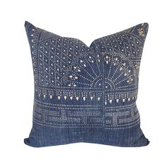 Handwoven Hmong Textile Pillow 22 - House of Cindy - House of Cindy