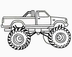 Monster Truck Coloring Pages, Image Search | Ask.com ...