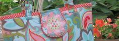 Sew handbags/Laminated Fabric Sewing Tips/ Nancy Zieman