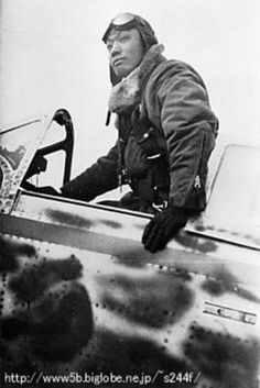 Japanese ace army pilot Isamu Kashiide he destroyed seven b-29 and damaged 26 others,making him the greatest B-29 hunter of the war!