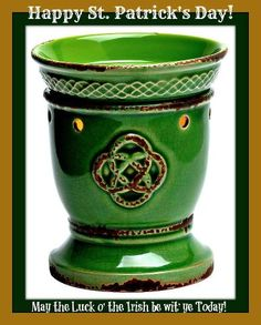 St. Patty's day is the day the Irish in all of us comes out! Try your luck today with these SCENTsational wonders and you are sure to win the battle of the odor.   Have a fabulous St. Patrick's Day everyone!   www.WicklessinGreenBay.com