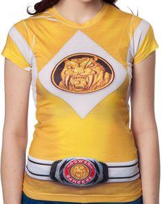 Ladies Yellow Ranger Sublimation Shirt