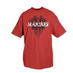 1af1d0cda65 Marines One-Sided Imprinted T-Shirt -63-48 L Marines Logo
