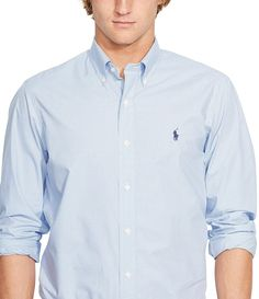 f5e28014a424b3 Shop for Polo Ralph Lauren Big   Tall Checked Poplin Shirt at Dillards.com.  Visit Dillards.com to find clothing, accessories, shoes, cosmetics   more.