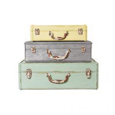 Extra Small Decorative Storage Suitcase | All | Oliver Bonas