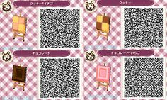 Sweets Village Paths ACNL QR Code 4/5