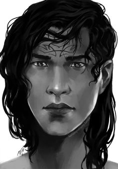"""horizonproblems: """"I still haven't figured out how to paint Kaladin except for his hairstyle, which I kinda have down… Guess I'll figure it out by painting him more often ¯_(ツ)_/¯ """""""
