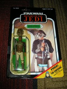 #Kenner #StarWars Return of the Jedi - Lando Skiff Guard by There & Back Again on @Etsy $27.99
