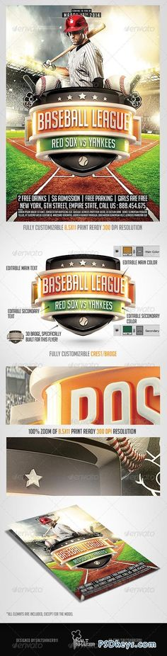 Baseball League Flyer Template Baseball league, Flyer template - baseball flyer