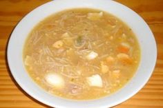 sopa-de-pollo-con-fideos-y-huevo-duro Spanish Kitchen, Spanish Food, Small Meals, Soups And Stews, I Foods, Food To Make, Delish, Starters, Easy Meals