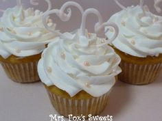 wedding/anniversary Cupcakes