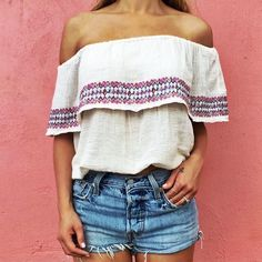 off the shoulder #billabong