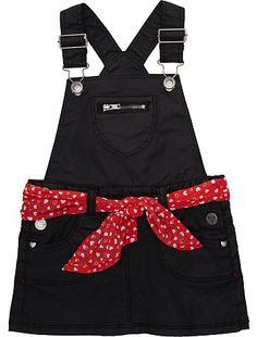 Vestido-peto con foulard de cinturón                             … Summer Outfits, Girl Outfits, Fashion Outfits, Toddler Fashion, Kids Fashion, Baby Christening, Sweet Girls, Clothing Patterns, Kids Girls