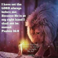 Lion of Judah, the Lord is set before me. I need you Lord! Prophetic art.