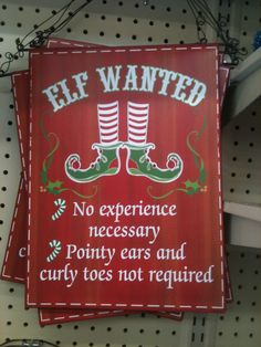I need this too! I was definitely mom's little elf. She worked my fingers to the bone during the Christmas holiday. hehe
