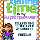 Use this worksheet to reinforce your teaching on Telling Time to the Hour! This worksheet has 9 analog clocks and students will fill in the time on...