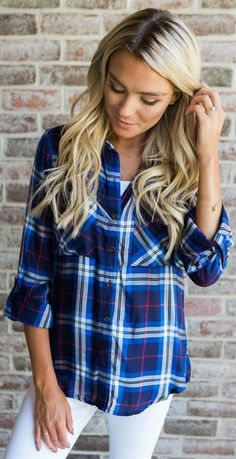 Hey y'all! Fall is here! Plaid is a must have staple for your closet! This ultra…