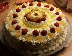 Torta limone e lamponi https://www.facebook.com/silviassweetcake