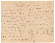 The Morgan Library & Museum Online Exhibitions - Beatrix Potter: The Picture Letters - Letter to Noel Moore, February 4, 1895, page 2-3