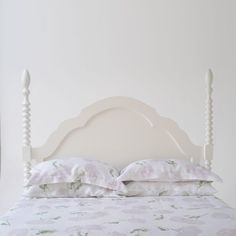 Peony Floral Printed Pure Italian Linen Duvet Cover