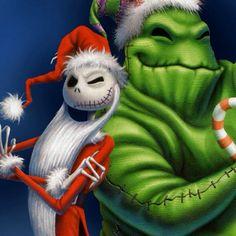 NIGHTMARE BEFORE CHRISTMAS:  Jack & Oogie