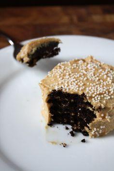 Mini Chocolate Peanut-Butter Icebox Cakes